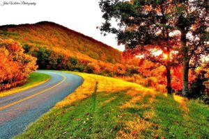 fall drive by John Wilcher Photography