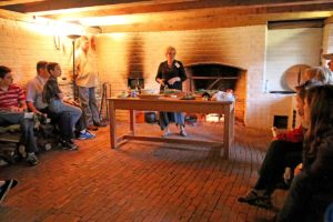 Kitchen tour at Poplar Forest