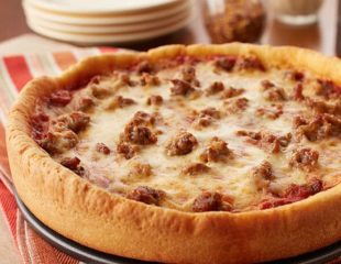 Lago deep dish pizza
