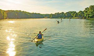 Smith Mountain Lake kayaking SUP
